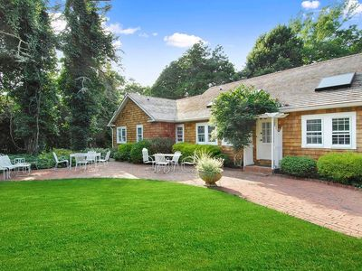 Photo for Guest House on East Hampton Estate/tennis/pool/ 6 min walk to Beach or Town
