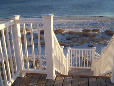 Photo for Beachfront Home on the Gulf of Mexico, private with spectacular views
