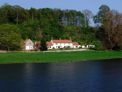 Photo for THE BOATHOUSE-  Sleeps 10, Idyllic RIverside Location, Ideal for Families/Groups