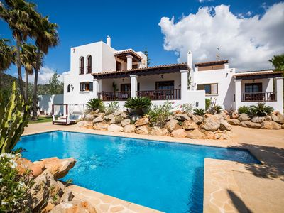Photo for VILLA CA NA VINYA large Ibizan style house with beautiful views and tranquility