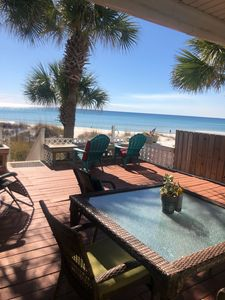 Photo for Sparkling Clean 🦋Salt therapy!Stay on BeachWest , pier park /beach ocean front!