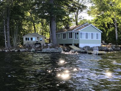 Photo for *Two* Waterfront Camps on Sebago Lake