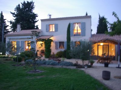 Photo for Charming home with pool in the Alpilles in St. Remy de Provence