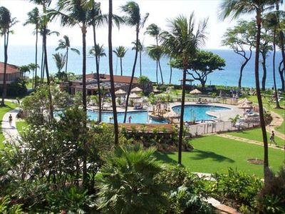 Photo for BEACHFRONT RESORT PARTIAL OCEAN VIEW STUDIO FULLY EQUIPPED/CENTRAL A/C