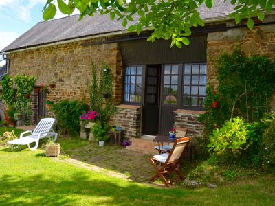 Photo for Renovated barn gîte with original details in gently rolling countryside