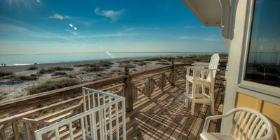 Photo for Private Pool, Gulf Front, Summer Available! The Big Yellow House: 5 BR / 4 BA