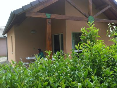 Photo for Gîtes 6 persons of 37 m² including 7 m² of covered terrace with swimming pool