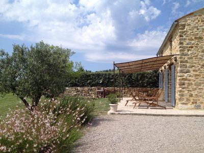 Photo for SUPERB MAS seventeenth WITH PRIVATE POOL AND VIEW THE LAVENDER FIELDS