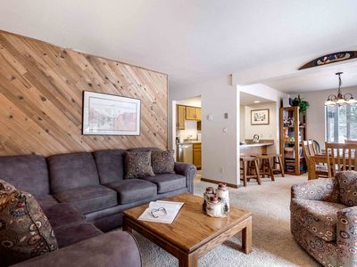 Photo for Frisco - 2 blocks to Main St & trails! 10 min to Copper. Fireplace, great value!