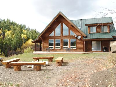 Photo for Aspen Ridge - Scenic Mountain Cabin Retreat that Borders Nat'l Forest