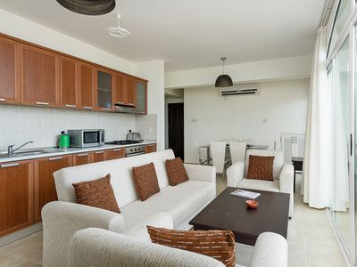 Photo for Simple Comfortable Penthouse Apt with stunning Mediterranean Sea Views+Free Wifi