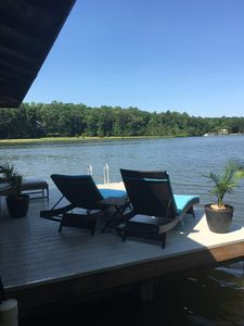 Photo for Lovey Retreat House on Lake Anna - Wooded Water Front 6 Bedroom and Private Dock