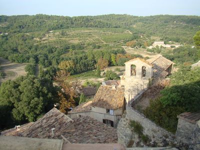 Photo for Perched in the Provencal village - Character house with stunning views
