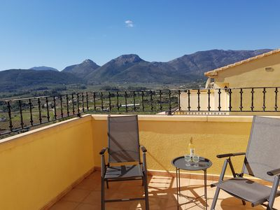 Photo for Amazing views over the Jalon Valley, Near Jalon, Alicante, on the Costa Blanca