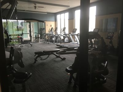 24/7 access to resident fitness club