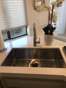 Large Stainless Steel Sink