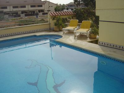 Photo for GREAT VILLA WITH PRIVATED FENCED SWIMMING POOL TO 200 MTS. TO DE BEACH