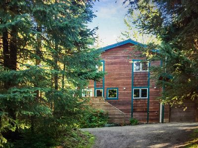Very private setting and a short walk to Alyeska