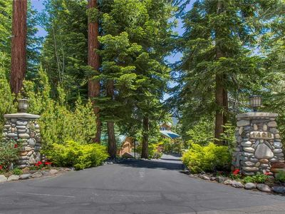 Photo for Breathtaking Lake Views, Beautiful, Lush Landscaped Yards with Waterfall Pond