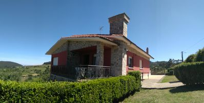 Photo for Chalet in the Alto de Valdeiglar.  Rodiles beach. Villaviciosa. Asturias.