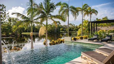 Photo for Tranquility by the Lake - Luxury Holiday Home Port Douglas