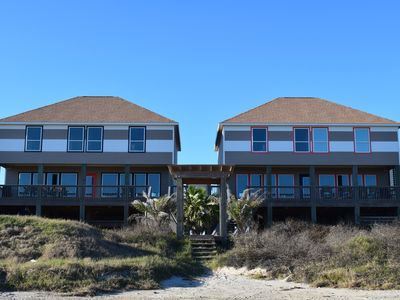 Photo for Coastal Living 2 Beachfront Homes together Sleeps 60. Great for events!
