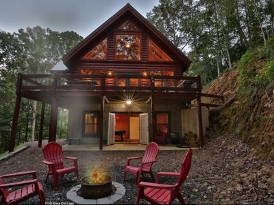 Photo for Casa Del Lago is your cabin destination!  WiFi.  Pool Table.  Beautiful Firepit
