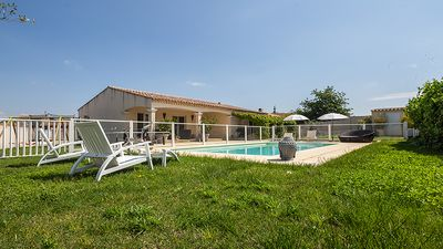 Photo for 3BR Villa Vacation Rental in Générac, Occitanie