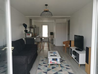 Photo for Apartment near beach and animation of the city center