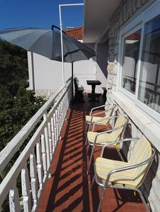 Photo for Holiday apartment 10 m to the beach with Internet access