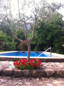 Photo for PEACEFUL LOCATION, 6km from beach, air con, wifi,PRIVATE POOL