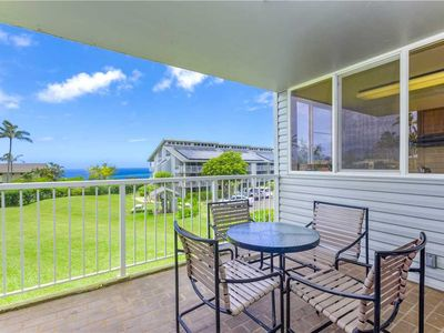 Photo for Relax in this casual condo for your Kauai vacation and enjoy distant ocean views