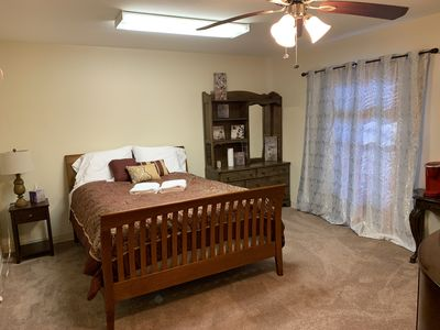 Photo for 1BR GUEST SUITE 15 Mins From AIRPORT + NETFLIX + Walking Trail + Weight Room