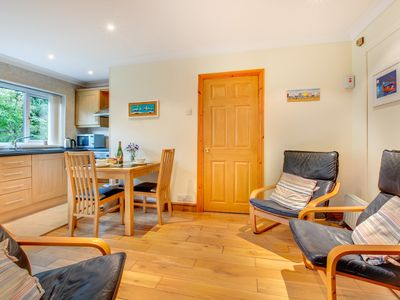 Photo for Hallstatt is a lovely ground floor annexe to the owners' home in the village of Saundersfoot. It is