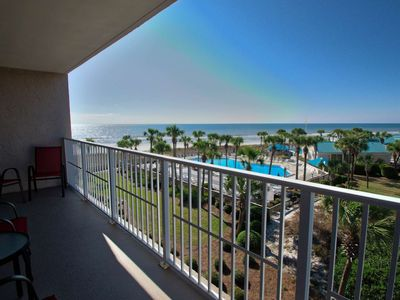 Photo for Beautiful 2 Bedroom Condo 3rd floor Free Gulf World Tickets Free WiFi, Dunes