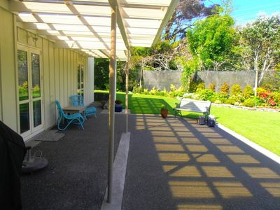 Photo for Cosy Quiet Lodge in Picturesque Garden and Orchard