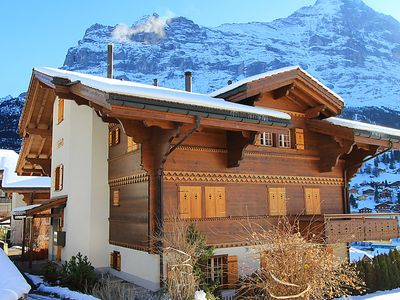 Photo for One bedroom Apartment, sleeps 4 in Grindelwald with WiFi