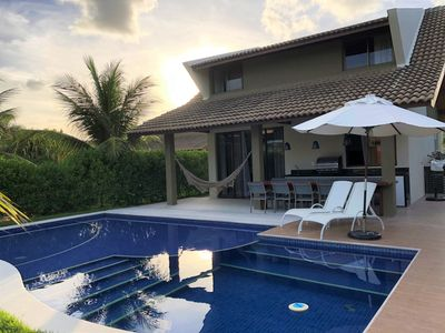 Photo for Bungalow Malawi Resort with sea view and private pool. Luxury and confort