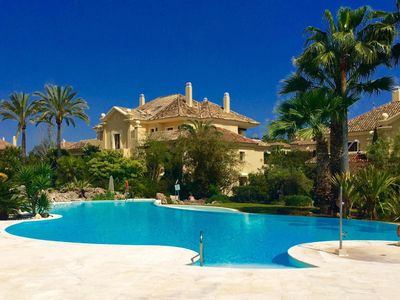 Photo for Sotogrande 4 bedroom apartment with service for 8 people.