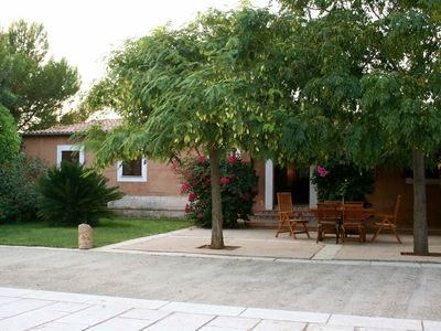 Photo for Finca with pool, without neighbors and 7 minutes by car from the beach of 'es Trenc'