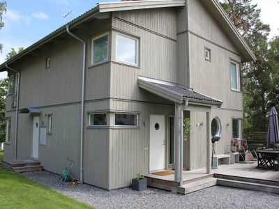 Photo for Modern House, 15 min drive from Stockholm City close to lake and the archipelago