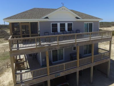 Photo for The Weathervane Semi-Oceanfront LUXURY home! wifi, pets, telescope, VIEWS!
