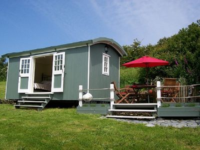 Photo for Gwithian St Ives Bay Stunning Shepherds Huts by the sea