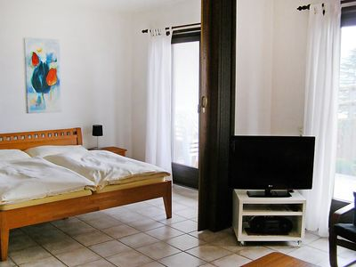 Photo for Apartment in the center of Gambarogno with Parking, Internet, Washing machine, Pool (46689)