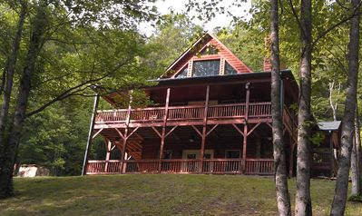 Photo for Private Mountain Hideaway On Fifty Acres