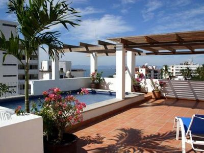 The Rooftop Pool... A Perfect Place to Enjoy the Beautiful Vallartan Sun!