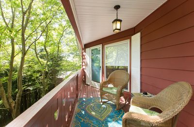 Photo for Matterhorn Chalet Mtn Views YET Only 4 Mins to DT AVL, Dog Friendly, Gas FP