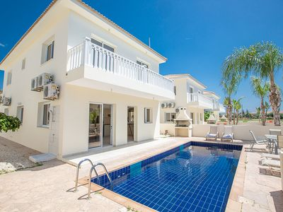 Photo for Villa Jazzy, Modern 3BDR Ayia Napa Villa with Pool, Close to Nissi Avenue