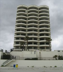 Back View Sand Dollar Condominium (#1001 right corner unit)