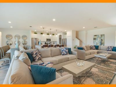Photo for Solterra Resort 85 - Huge villa with private oversized pool near Disney